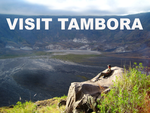 Mount Tambora Trekking Guides in Sumbawa Indonesia