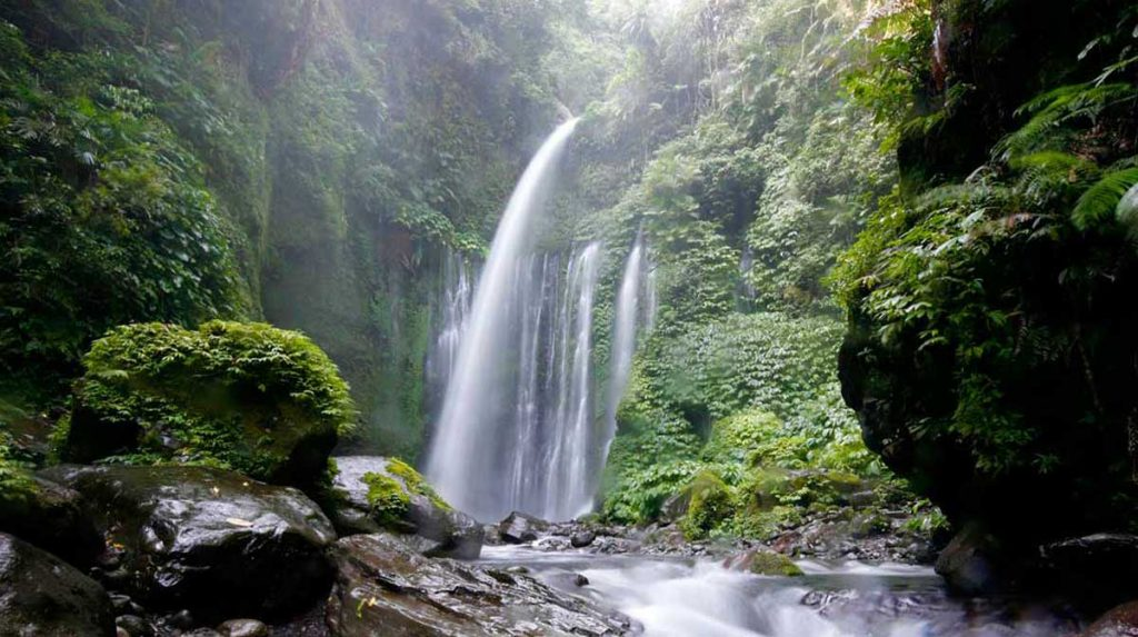 rinjani waterfalls